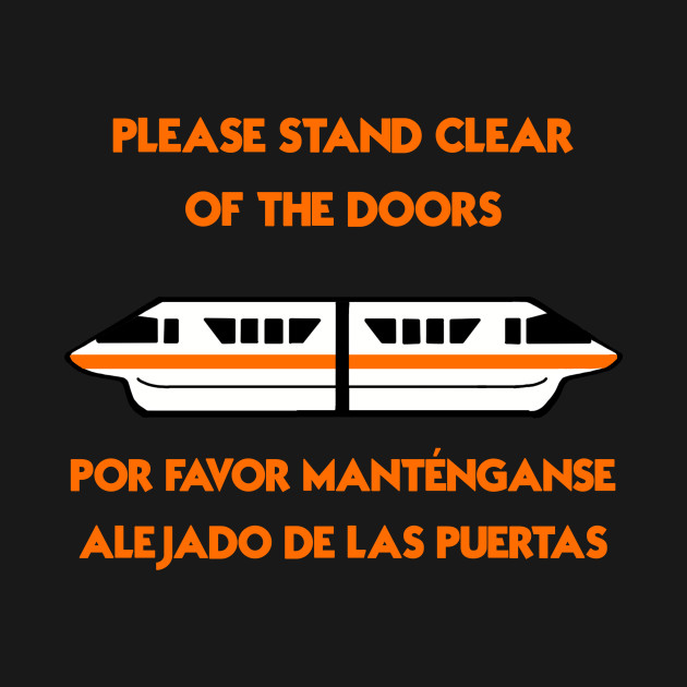 Monorail Warning: Orange