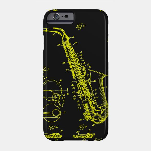 dd82f288cb320 Saxophone Patent Print T Shirt, Patent Prints, Patent Art, T Shirt Vintage,  Blueprint Art