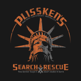 Plissken's Search and Rescue t-shirts