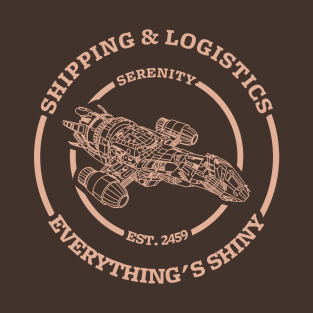 Serenity shipping and logistics (light design)