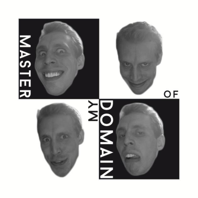 Master Of My Domain Shirts (Version 1)