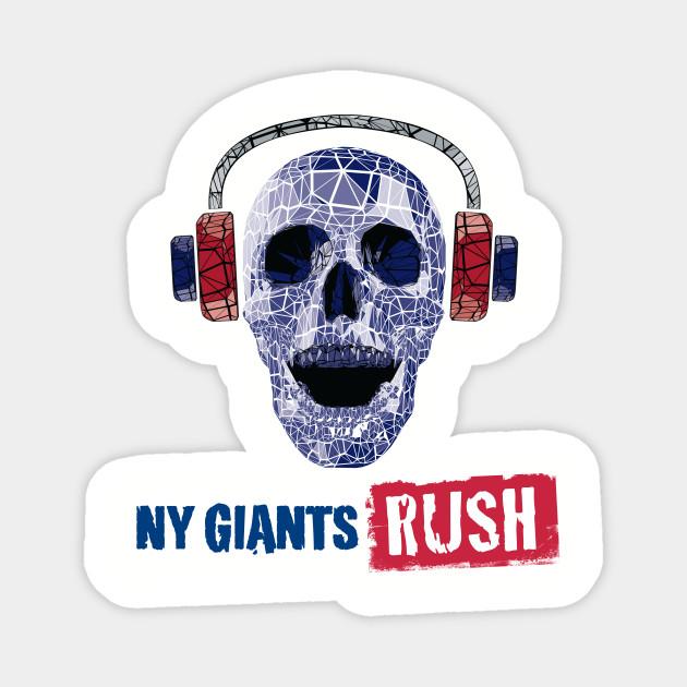NYGiantsRush.com Upgraded Logo