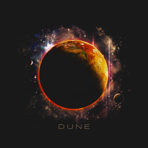 Planet Dune The Source Of The Spice T-Shirt