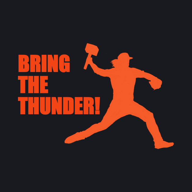 """NY METS Syndegaard """"BRING THE THUNDER"""""""