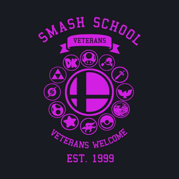 Smash School Veterans (Magenta)