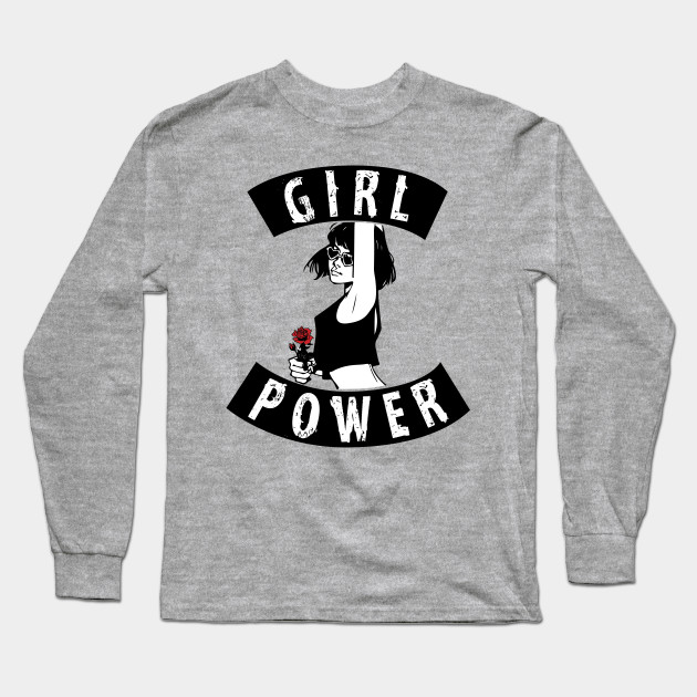 e9393e28091 Girl Power feminism graphic tshirt for women