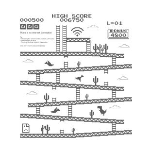 Internet Kong t-shirts