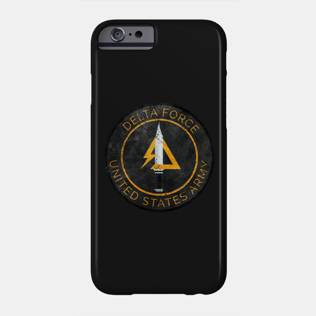 Delta Force Vintage Insignia Delta Force Phone Case Teepublic