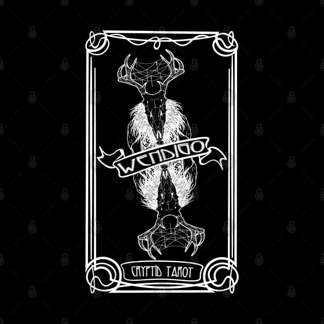 Cryptid Tarot Series: Wendigo