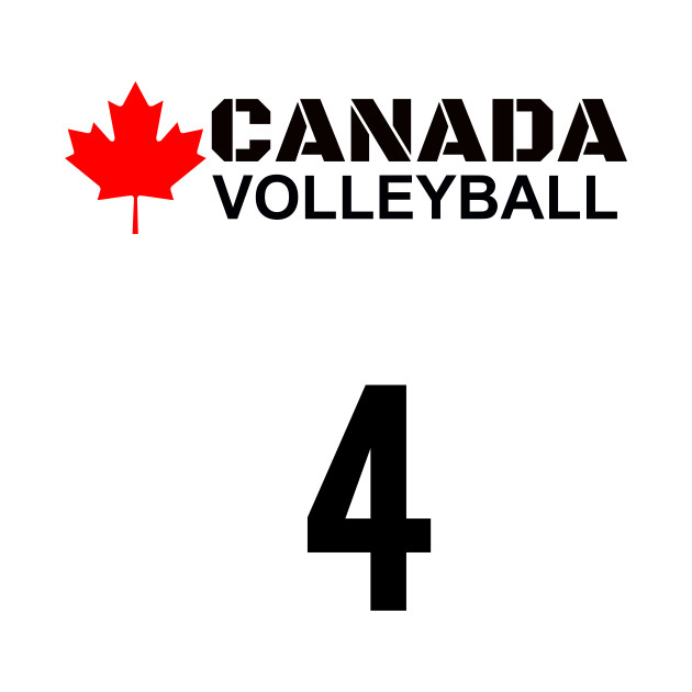 Canada Volleyball 4 Gift Idea