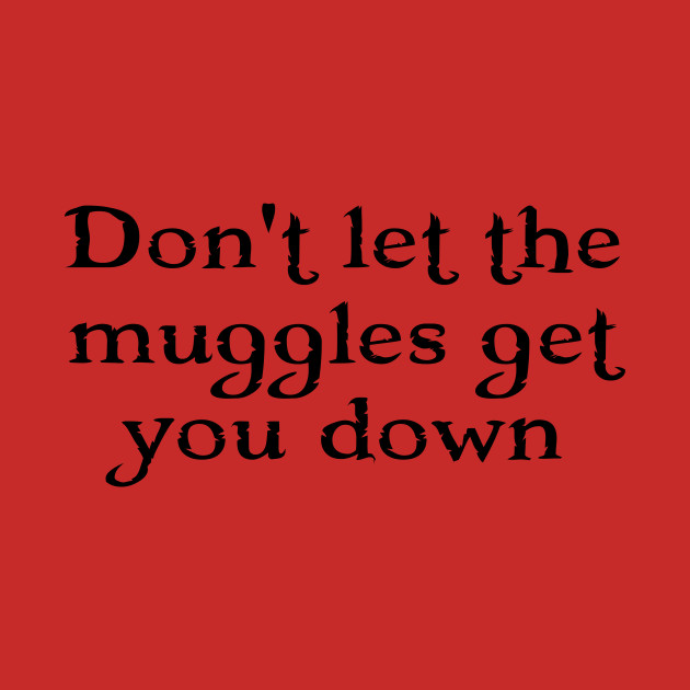 Harry Potter - Don't let the muggles get you down