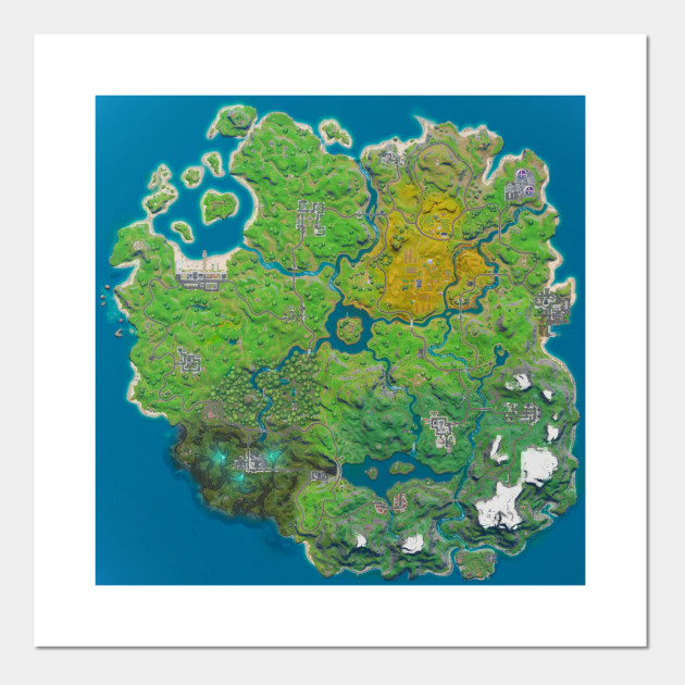 Fortnite Chapter 2 Season 1 Map