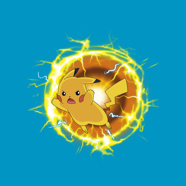 Pikachu On Fire