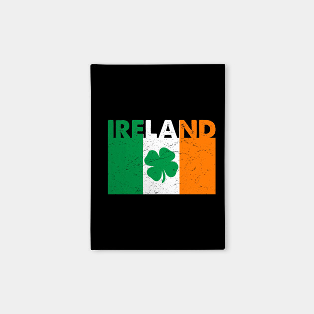 Irish Ireland Flag Shamrock St. Patrick's Day T-Shirt