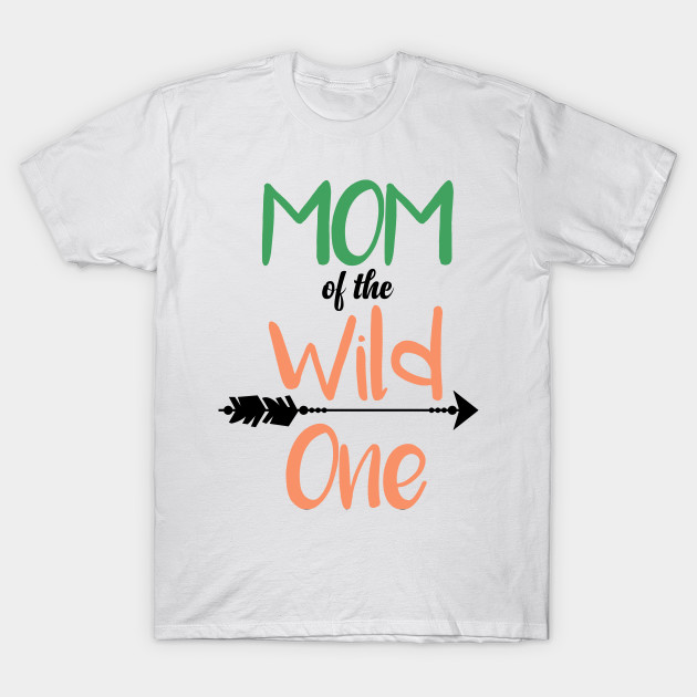 Dad Mom Wild One Matching Family Boho Birthday Shirts T Shirt