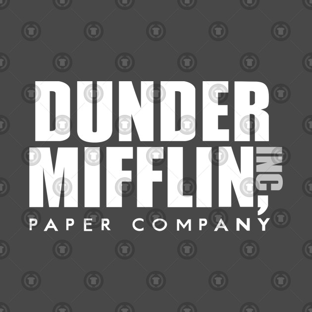 The Office TV Show Dunder Mifflin Paper