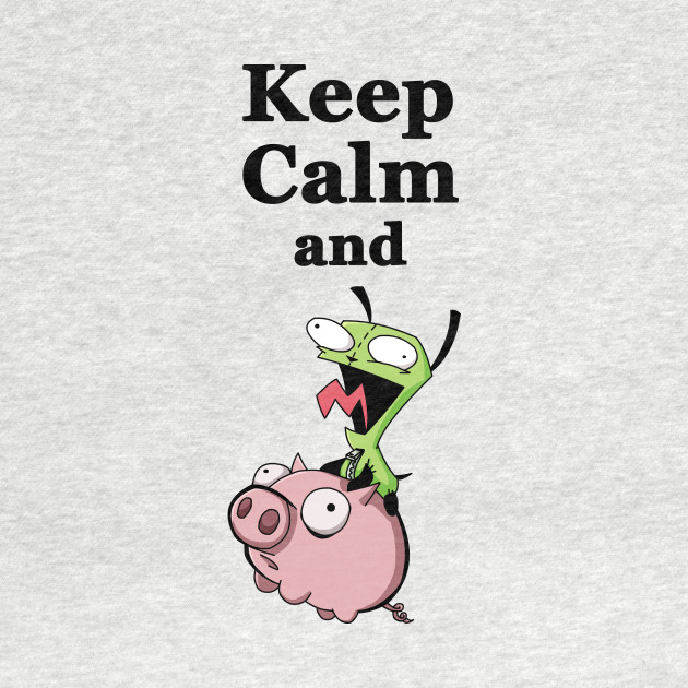 Keep Calm and Ride the Pig