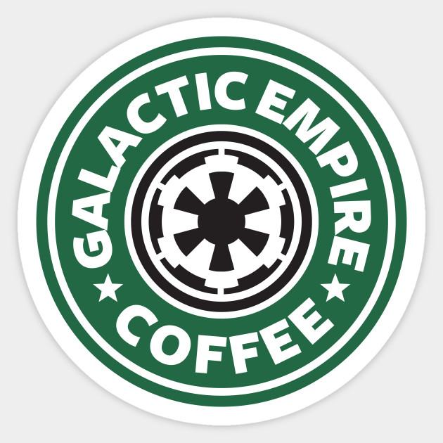 bff65dc9a4f744 Star Wars Rogue One Galactic Empire Coffee Starbucks Logo - Star ...