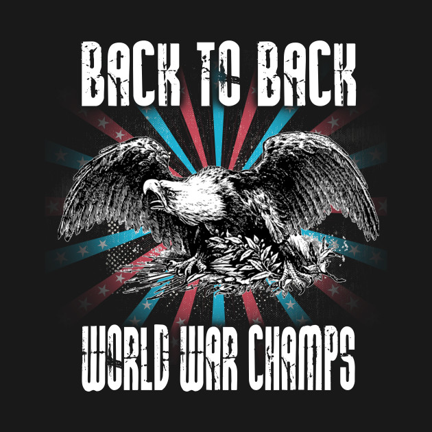 Back to Back World War Champs USA Gift