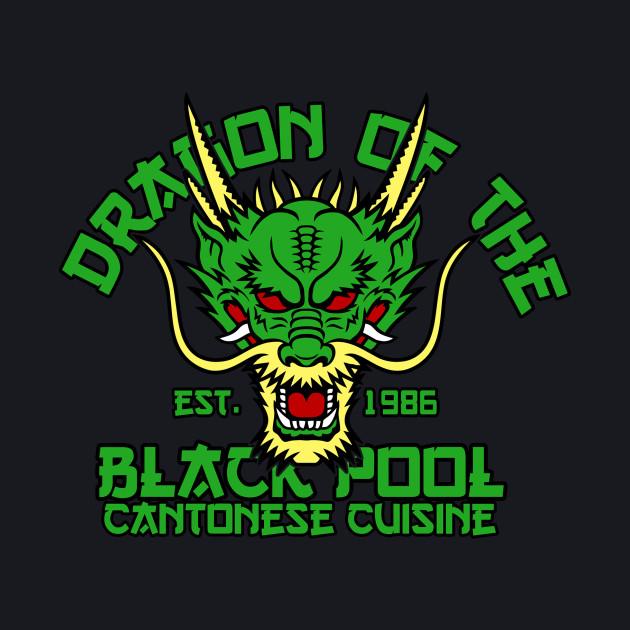 Dragon of the black pool