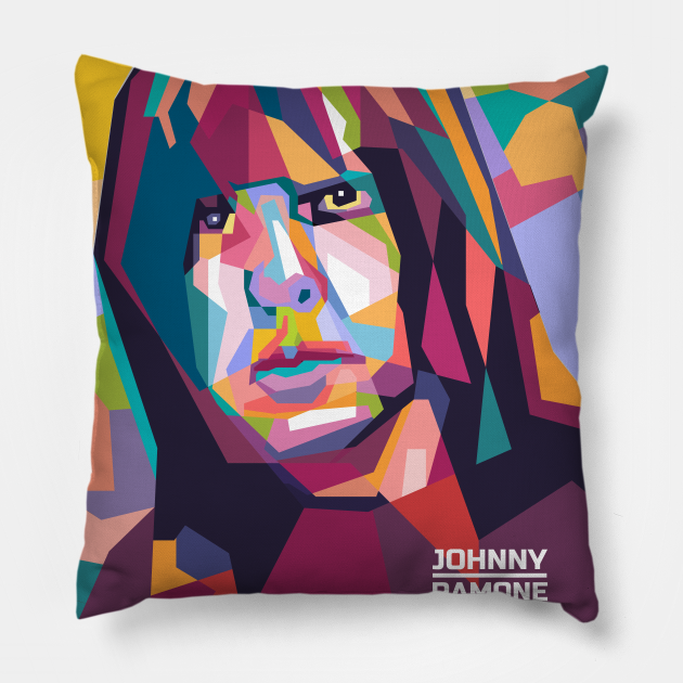 Abstract Johnny Ramone in WPAP