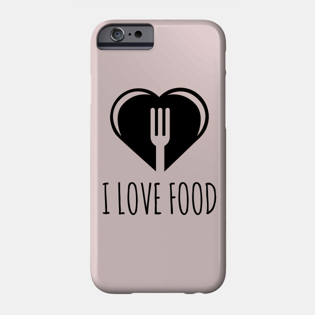 Funny Food Quote I Love To Eat Heart And Fork Diet Health
