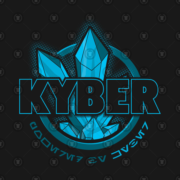 Powered by KYBER - blue