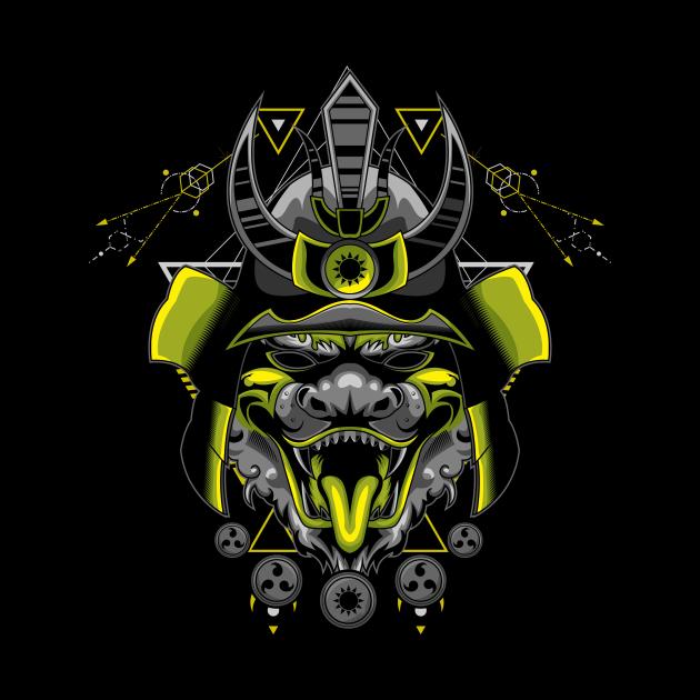 legendary samurai mask