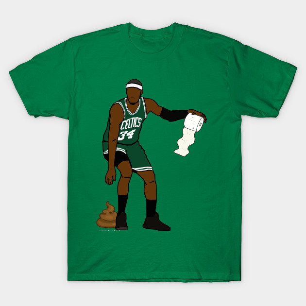 newest 03ea7 84921 Paul Pierce 'The Poop' - NBA Boston Celtics