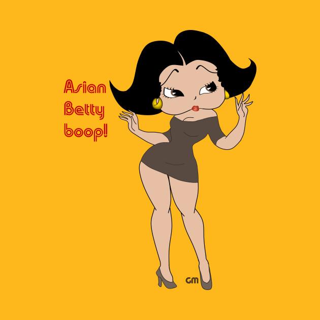 Asian bettyboop - Betty Boop - T-Shirt | TeePublic