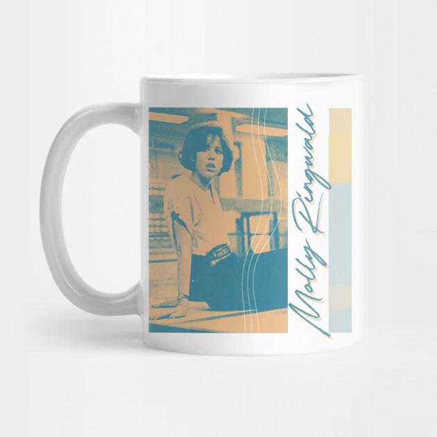 Molly Ringwald 2 80s Style Aesthetic Fan Design Molly Ringwald Mug Teepublic