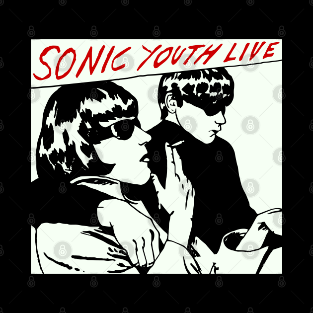 Sonic Youth as worn by kurt cobain