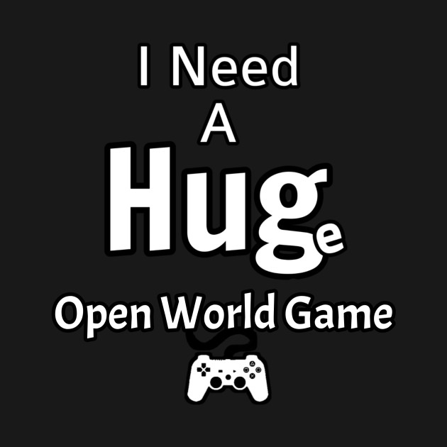 Huge Open World Game Need A Hug Video Game MMO Gift