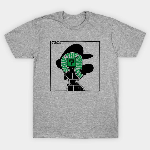 d22c5dc24 Save The Princess - Luigi - Luigi - T-Shirt   TeePublic