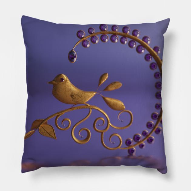 Fantasy bird motif