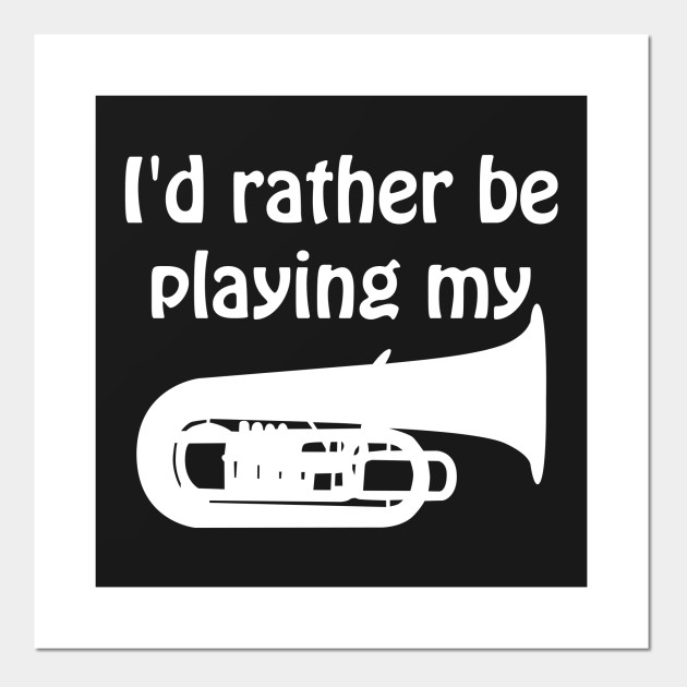 I/'d Rather Be Playing Cornet T-Shirt