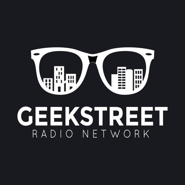 Geek Street Radio Logo White Out