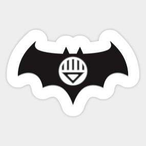 Dark Knight Of The Black Lanterns Sticker
