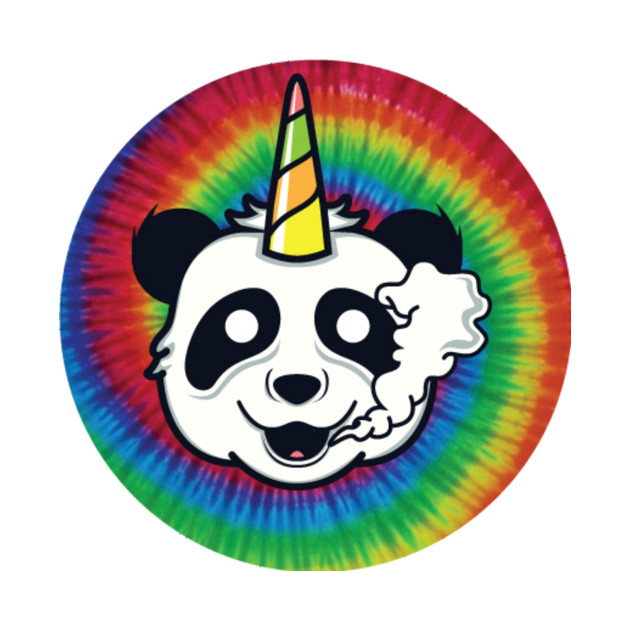 Tye Dye Panda