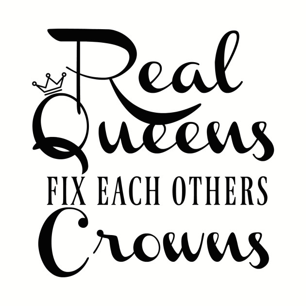 Real Queens Fix Each Others Crowns