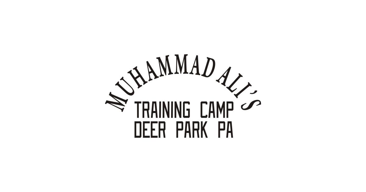 muhammad ali  u2013 training camp deer park - fighting