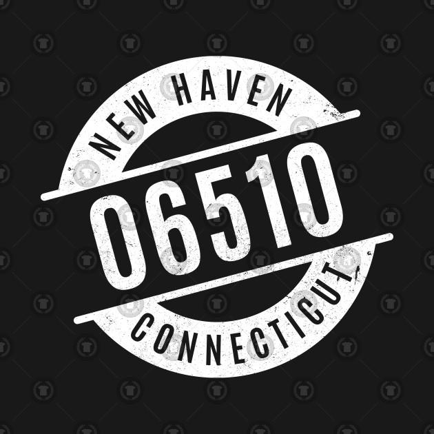 New Haven Connecticut 06510 Zip Code Zipcode T Shirt Teepublic