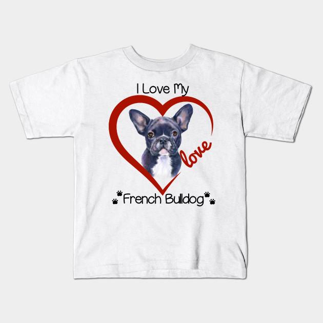 I Love Heart My Great Dane Kids T-Shirt