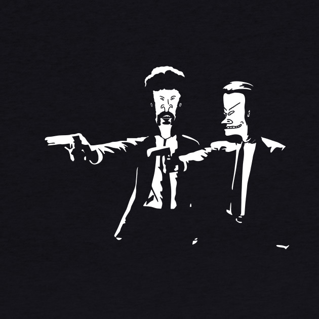 Beavis and Butthead Pulp Fiction