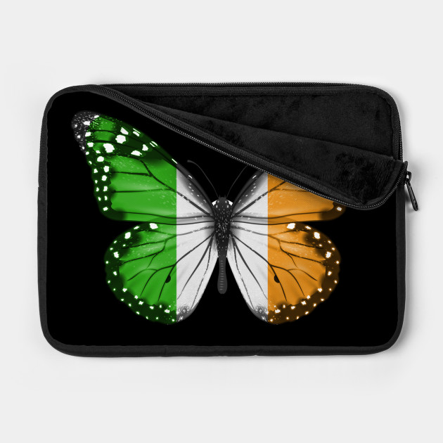 Irish Flag  Butterfly - Gift for Irish From Ireland