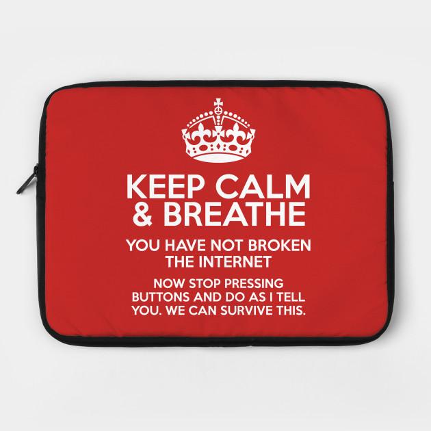 Keep Calm Webmaster