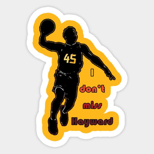 I Don t Miss Hayward (City Edition) - Utah Jazz - Sticker  cf4730b6f