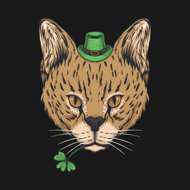 cat st patricks day 2020