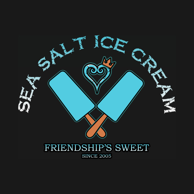 Sea salt ice cream Kingdom Hearts