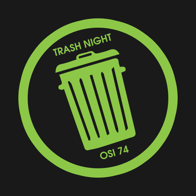 Trash Night Can Logo